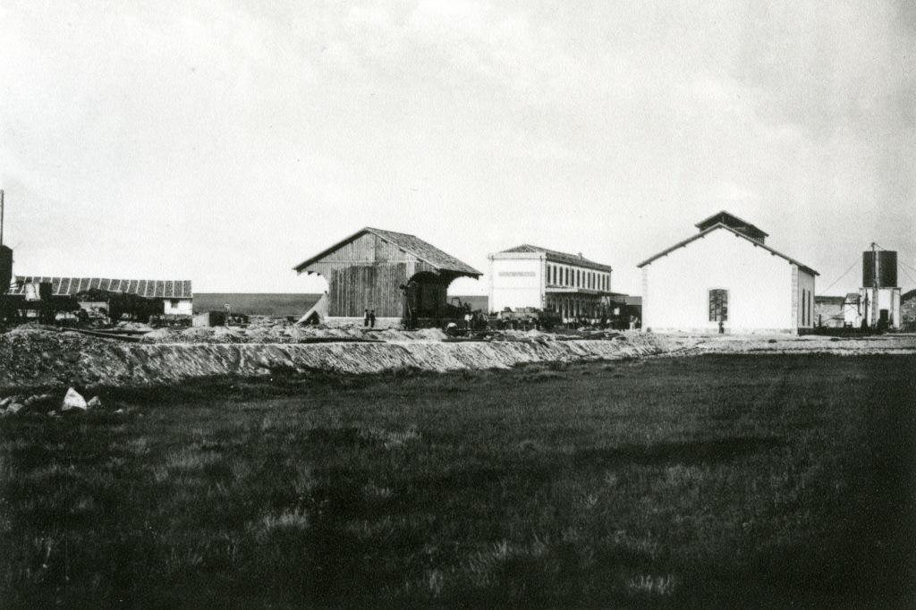 Estação Ferroviária de Vilar Formoso, s/data. Arquivo Histórico da CP, Comboios de Portugal